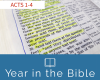 Year in the New Testament Podcast Week 22: Acts 1-4