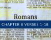 Romans 8:1–18